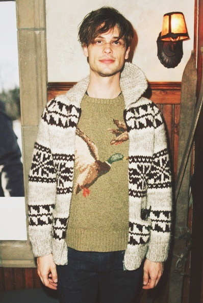 PARK CITY, UT - JANUARY 20: Matthew Gray Gubler attends the Columbia Lounge at The Village At The Lift Day4 on January 20, 2014 in Park City, Utah. (Photo by John Parra/Getty Images for Colombia)