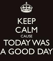 keep calm good day