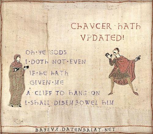 Chaucer hath Updated
