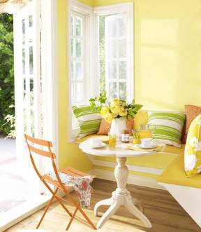 lovely yellow room